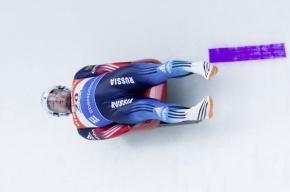 Российский саночник Демченко лидирует после первого заезда