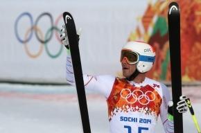 Австрийский горнолыжник Матиас Майер завоевал золото в скоростном спуске