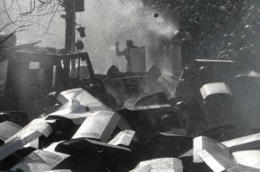 В центре Киева война, стрельба и пожары: несколько погибших