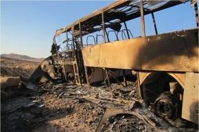В Египте взорвался автобус с туристами, есть погибшие
