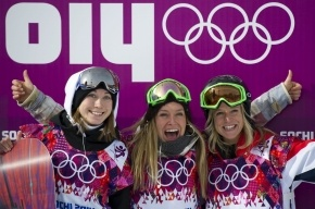 Американская сноубордистка Джейми Андерсон завоевала золото в слоупстайле