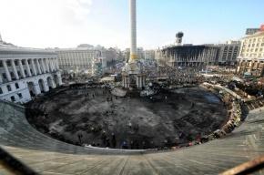 «Евромайдан» взял под контроль правительственный квартал Киева