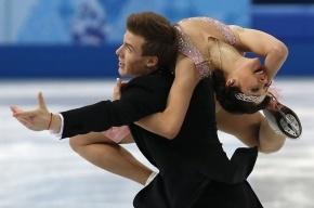 Фигуристы Ильиных и Кацалапов занимают 3-е место после короткой программы на ОИ