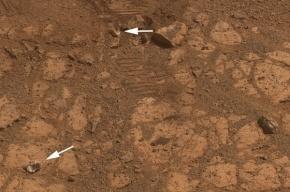 Ученые раскрыли тайну странного камня рядом с марсоходом Opportunity