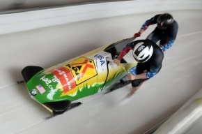 Сборная Ямайки потеряла двухместный боб по пути на Олимпиаду в Сочи