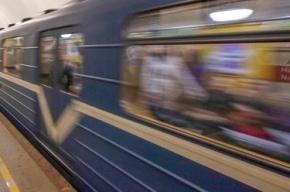 В петербургском метро задымился поезд на зеленой ветке