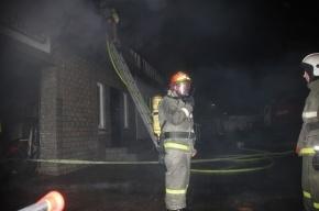 В Петербурге горел ресторан «Долина»