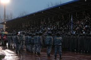 Тысяча полицейских будет охранять порядок на матче «Зенит»-«Боруссия»