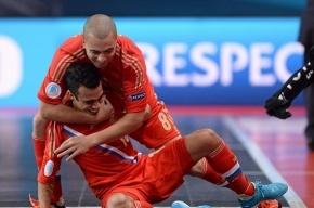 Россияне вышли в финал чемпионата Европы по мини-футболу