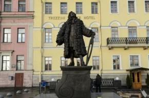 В Петербурге открывают памятник архитектору Трезини