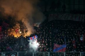ЦСКА наказан матчем без зрителей за расистское поведение болельщиков