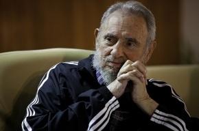 Власти Кубы стерли с фото Фиделя Кастро слуховой аппарат