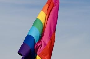 В Петербурге задержали четырех ЛГБТ-активистов с плакатом