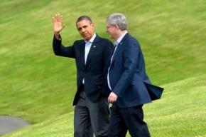 Обама должен премьеру Канады уже два ящика пива за поражения хоккейных сборных США на ОИ