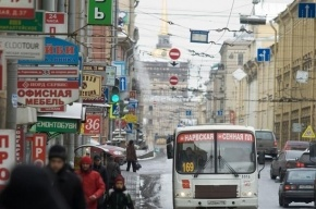 Житель Петербурга требует с губернатора 160 тыс рублей за оскорбление рекламой чистоты Петербурга