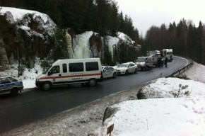 «Горячая линия» открыта после крупной автокатастрофы в Ленобласти
