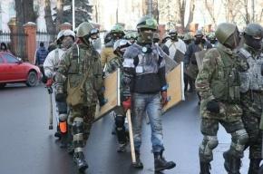 Оппозиционеры захватили центральный офис Партии регионов в Киеве