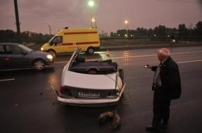 В Москве сын полпреда Чечни Мингаева протаранил два авто