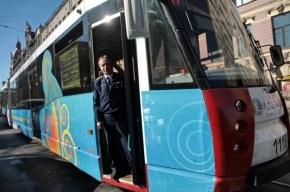 На улицы Петербурга 7 февраля выйдут «олимпийские трамваи»