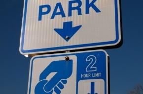 Платная парковка в центре Петербурга должна появиться к 2016 году