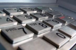 В Купчино грабители вырвали с корнем и увезли из банка банкомат
