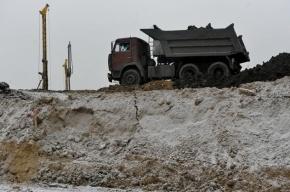 Авария с грузовиками заблокировала Западный скоростной диаметр