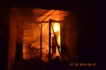 В Ленобласти мужчина от скуки сжег склад, на котором работал: Фоторепортаж