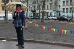 Уличные гуляния в Соляном переулке на 8 марта: Фоторепортаж