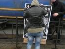 Акция с Эвитой Перон: Фоторепортаж