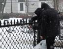 Акция с шиной, Петербург, 15 марта 2014: Фоторепортаж