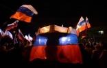 Фоторепортаж: «Власти Крыма провозгласили его независимость»