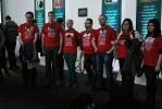 Социалисты пришли на выставку «Романовы» с петлями на шее: Фоторепортаж