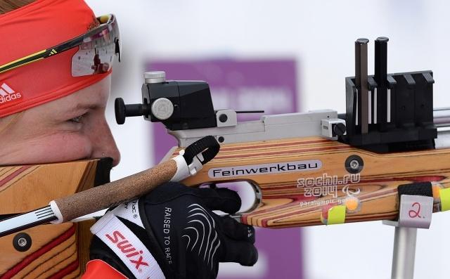 Российские биатлонисты на Паралимпиаде: Фото