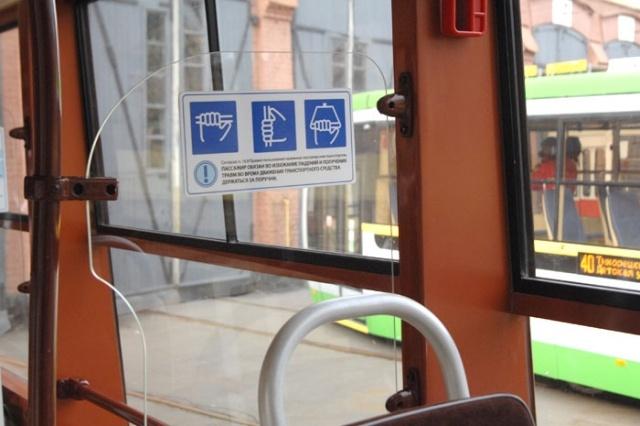 В Петербурге запустили модернизированные трамвайные ретровагоны: Фото