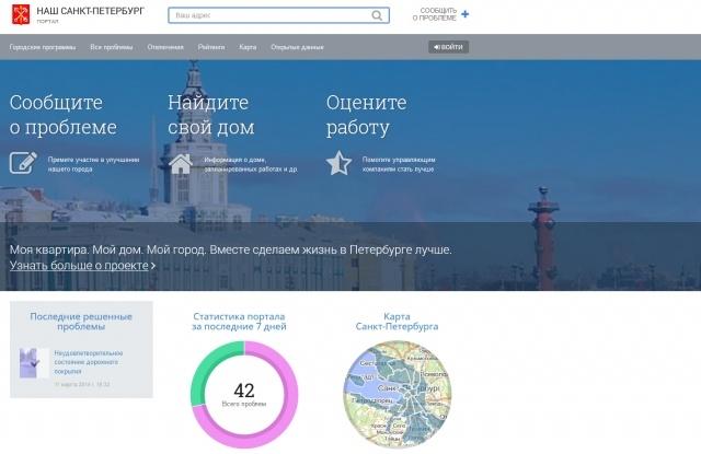 Открытые данные Петербурга и «Наш Петербург»: Фото