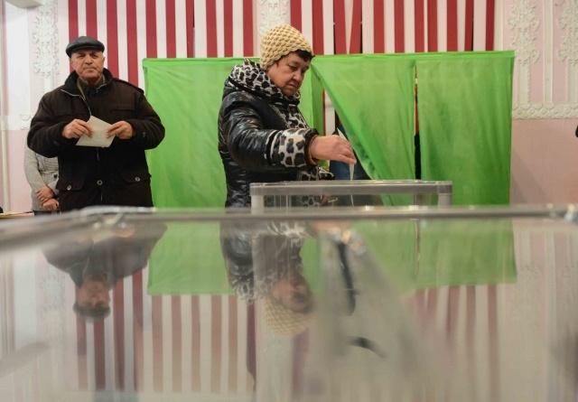 Крым, референдум, 16 марта 2014: Фото