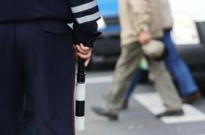 В Москве пьяный водитель протаранил микроавтобус ГИБДД