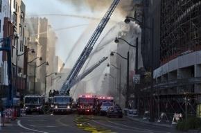 На Манхэттене взорвался и частично обрушился жилой дом