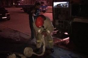 В Петербурге при пожаре в бизнес-центре «Сенатор» эвакуировали 30 человек