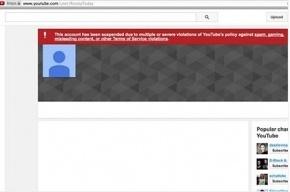 Аккаунт телеканала Russia Today на Youtube заблокирован
