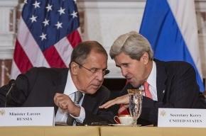Керри и Лавров обсудили по телефону кризис на Украине