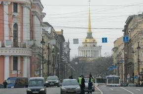 Феминистки перекрыли Невский проспект в Международный женский день