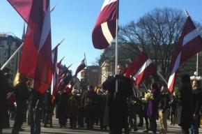 В центре Риги прошло шествие легионеров СС
