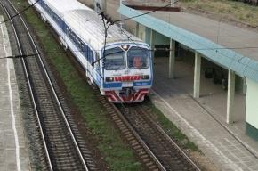 Под Петербургом электричка сбила пожилого мужчину