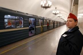 В метро Петербурга поезда стоят из-за отключения светофоров