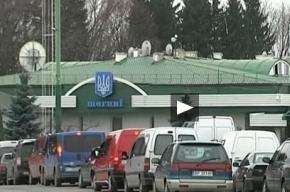 «Первый канал» рассказал об украинских беженцах, показав польский КПП