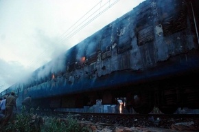 В Хабаровском крае загорелся вагон пассажирского поезда