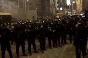 В массовых беспорядках на митинге в Донецке погиб один человек, 17 пострадали