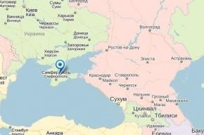 «Яндекс» создает разные карты Крыма для Украины и России