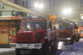 В Петербурге на территории Московского вокзала произошел пожар
